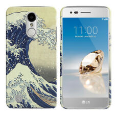 For LG Aristo MS210 LV3 K8 M150 Fortune Design HARD Back Case Cover + Pen