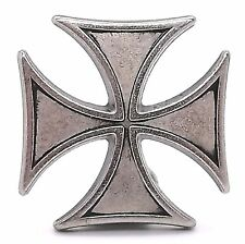 Antique Nickel Iron Cross Concho 7758-16 by Stecksstore