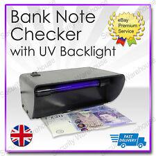 S9T Electronic UV Checker Nota Bancaria falsificación dinero falso efectivo Detector Probador