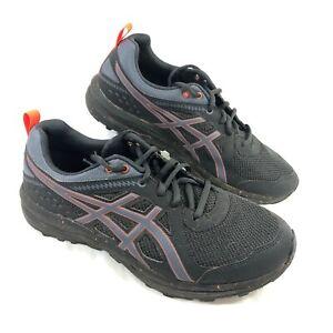 GUC Men's Asics Torrance Trail Running Shoes Gray Orange Sz 9.5 EW