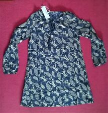 Glamorous Paisley Print Dress Blue X-Small - New With Tags