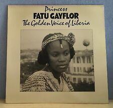 PRINCESS FATU GAYFLOR The Golden Voice Of Liberia  vinyl  LP EXCELLENT CONDITION