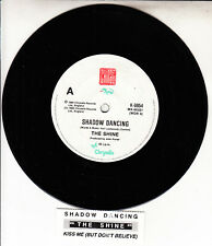 "THE SHINE  Shadow Dancing 7"" 45 rpm vinyl record NEW + jukebox title strip"
