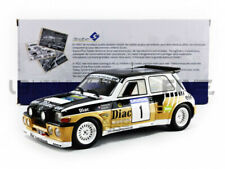 1 18 Solido Renault 5 Maxi Turbo #1 Rally du Var Chatriot/perin 1986