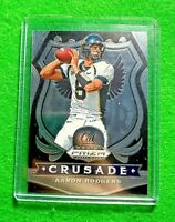 AARON RODGERS SILVER CHROME CARD JERSEY #6 PACKERS 2020 PANINI PRIZM DRAFT PICKS