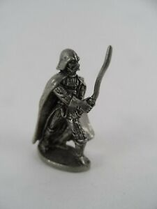 DARTH VADER Pewter Game Piece Monopoly Star Wars Classic Trilogy Edition 1990s
