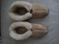 Wooly Rascal Sheep Skin Womens Slippers Size 9