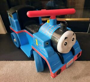 PEG PEREGO THOMAS THE TRAIN RIDE ON TRAIN 6V FULLY WORKS WITH SOUND