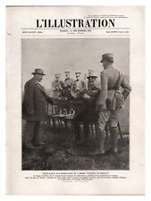 L'ILLUSTRATION 4411 1927 TERRE NEUVE / FRANCISCAIN ALVERNE