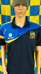 Tipperary GAA Official O'Neills Hurling Polo Shirt Jersey (Adult Large)