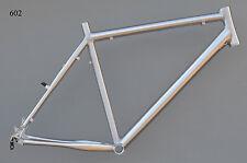 "Superlight Mountainbike Rahmen 54 cm Alu gebürstet silb 26"" Disc + V-Brake NR602"