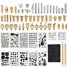 69Pcs Wood Burning Accessories Carving Iron Soldering Woodworking Pyrography Kit