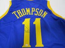 Klay Thompson Golden State Warriors Signed Jersey / 3xNBA Champion / Coa