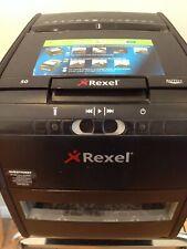 Rexel Paper Shredder Auto Feed Cross Cut +50 Black Office Paper Shredder
