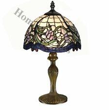 Tiffany Artesanal Lámpara De Mesa Tamaño Mediano (12 pulgada de ancho) Ideal Regalo De Navidad