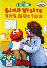 NEW Sesame Street - Elmo Visits the Doctor (DVD)