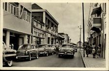 Aruba niederländische Antillen Postkarte 1957 gelaufen Oranjestad Nassaustraat
