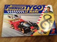 Formula Tyco Le Mans World's Number 1 Racing System track slot cars set for sale