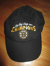Otto 2011 BOSTON BRUINS Stanley Cup Champions (Adjustable) Cap