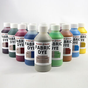 Liquid Fabric Dye for Sofa, Clothes, Denim, Shoes & more. Repairs & Re-Colours