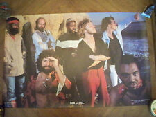 SEA LEVEL - Cats On The Coast Poster Brand New, Allman Brothers Band