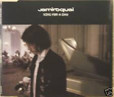 """JAMIROQUAI """"KING FOR A DAY"""" cd's 3 track mint"""
