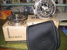 Sale V Fly VRC Large Arbor Deluxe Lightweight Trout Fly Reel & Spare Spool #3/4