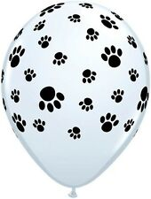 "10 pc 11"" Puppy Paw Dog Latex Balloon Party Decoration Decorator Shower Birthday"