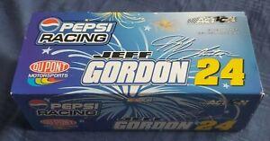 Limited Edition Jeff Gordon 2002 Monte Carlo Pepsi Racing 1:24 Diecast Race Car!