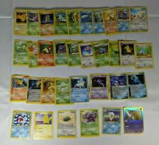 34 Pokemon Card Lot ☆ Commons 90s 00s Reverse Japanese  ☆ Lightly Played ☆  L4