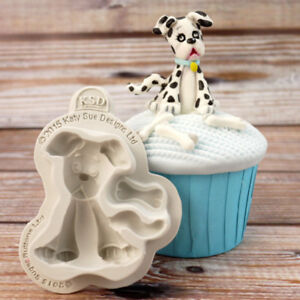 Silicone Sugarcraft Cake Decorating Dog Mould By Katy Sue Art & Craft