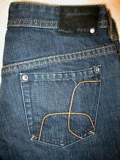 Hurley Straight Leg Womens Dark Blue Denim Jeans Size 7 x 34  Mint