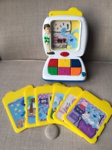 BLUE'S CLUES TYCO TALKING LEARNING ELECTRONIC EDUCATIONAL TOY 2000