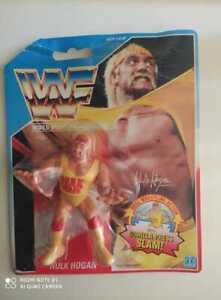 Hulk Hogan WWF figure Hasbro 1990 NOC