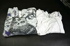 Lot of 2 Women's Large Tops 1 Terre Bleue + 1 Style & Co Different Style Tops