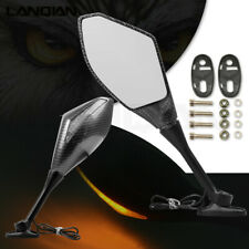 Rearview Mirrors With Turn Signal LED Light For Yamaha FZ6 xmax300 tmax530 r15
