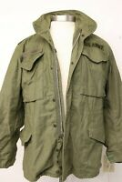 OG-107 Vietnam 1968 Cold Weather Field Coat M-65 US Army Rambo Reg Sm Named