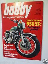 HOBBY 1973-5,TEST HONDA JAPAUTO 950SS,TEST OPEL MANTA SR,MGB GT,MAZDA RX3,RENAUL