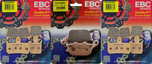 EBC HH front & rear brake pads set - Yamaha YZF-R1 2007-2014 _FA442/4HH|FA174HH
