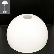 Glas Lampen Schirm Ersatz Schale weiß ø 14,5 cm Lampe Verona Tischlampe g00267