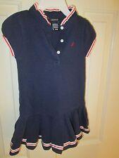 Nautica red, white and blue tennis dress, Sz 24 Mos, EUC