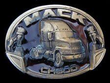 MACK TRUCKS MACK CH600 BELT BUCKLE VINTAGE 1991 US MADE