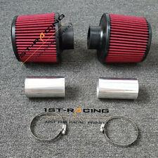 """2.25"""" 2-1/4"""" Hi FLow Twin Cone Air Filter Intake BMW E90 E92 E93 E82 335i 135i"""