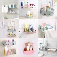 EG_ Kitchen Bathroom Wall Storage Water Drain Holder Home Organizer Rack Shelf N