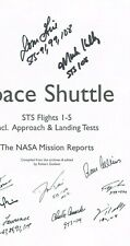 Ten Astronauts Signed Copy of Space Shuttle Sts Flights 1-5. The Nasa Mission