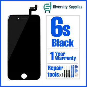 """OEM Apple iPhone 6S 4.7"""" Black LCD Display Touch Screen Digitizer Replacement"""