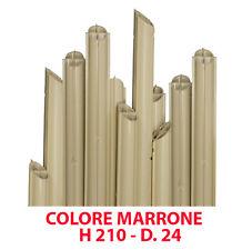 TUTORE CANNA SOSTEGNO PVC PER PIANTE CON RINFORZO D 24 MM H 210 CM 1 PZ (17180)
