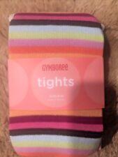 NWT Gymboree 8 10 9 rainbow snow blossom striped tights PRIDE girls 57-85 lbs