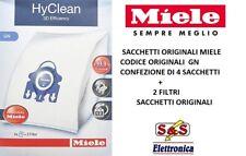 1 Filtro HyClean 2 conf da 4 Sacchetti Miele FJM Originali