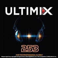 Ultimix 253 CD Calvin Harris Dua Lipa Shawn Mendes Charlie Puth Kenny Chesney
